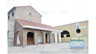 BODAS DE ORO. La parroquia San Agustín cumple 50 años. Foto UNO/Mateo Oviedo