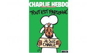 Todo perdonado, dice la tapa de Charlie Hebdo después de la masacre