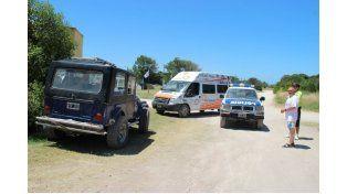 Un nene de dos años murió al caer de un jeep