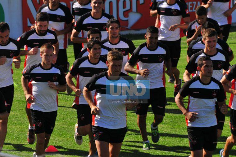 Bértoli desea irse a Huracán para jugar en Primera División. (Foto UNO/Juan Manuel Hernández)