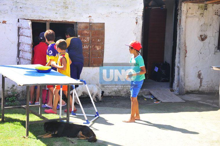 Los trapos se mezclaron en una jornada especial. (Foto UNO/Juan Manuel Hernández)