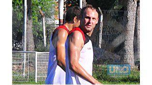 Lucas Mazzulli entrenó ayer por primera vez en Patronato. Foto UNO/Juan Manuel Hernández