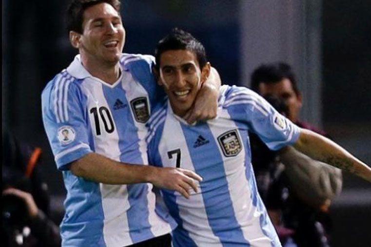 Messi y Di María integran el equipo ideal de la Unión Europea de Fútbol