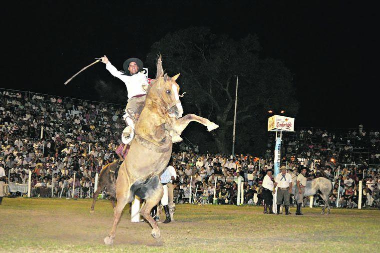 EN LAS ALTURAS. La Fiesta de Diamante es una de las más convocantes de la provincia.