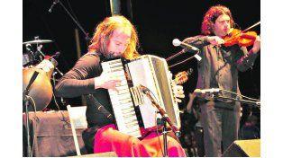 CHANGO. Spasiuk fue el artista esperado y que cerró el Festival en la noche del miércoles.