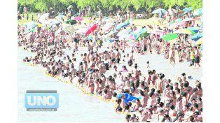 EN LAS DOS JORNADAS. En Valle María esperan más de 15.000 personas entre sábado y domingo.  Foto UNO/Juan Ignacio Pereira