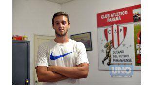 Felipe Cadenazzi es una de las grandes apuestas del entrenador Edgardo Cervilla.  Foto UNO/Mateo Oviedo