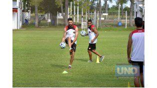 Bogino entrenó ayer junto al resto del plantel por la tarde en La Capillita. ¿Son sus últimas prácticas? Foto UNO/Mateo Oviedo