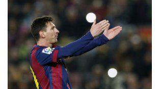 Messi dijo presente en la goleada de Barcelona por 5-0 a Elche