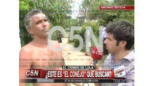 El video de la entrevista que dio el principal sospechoso del caso Lola
