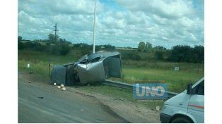 Varios heridos en un accidente en la ruta nacional 12