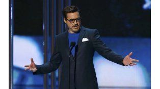 Robert Downey Jr, el gran ganador en los Peoples Choice