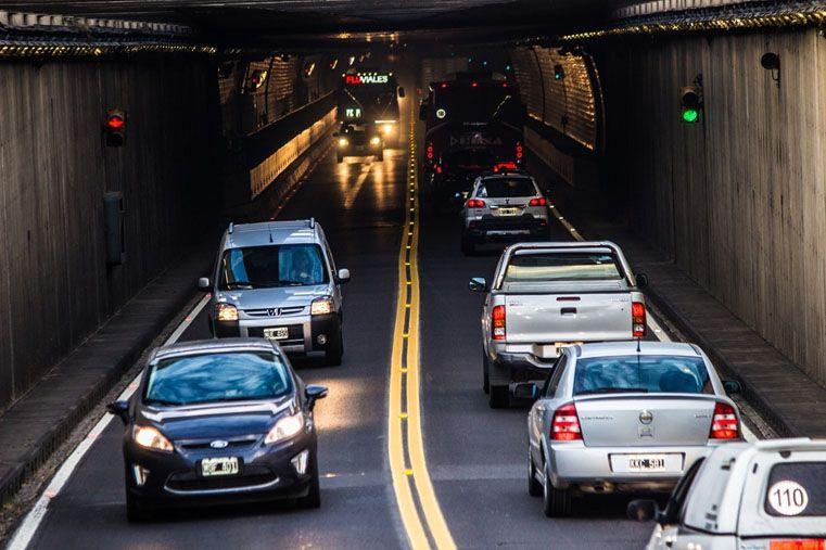 Historia. Desde 1970 cruzaron por el Túnel casi 108 millones de vehículos.