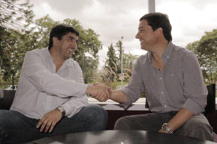 En campaña por Massa. Fuertes y Zavallo difundieron su encuentro y las coincidencias a las que arribaron.