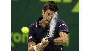Fácil debut para Djokovic