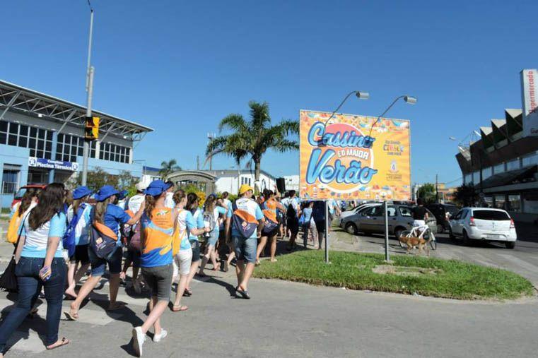 Las actividades son organizadas por el Ministerio de Renovación Carismática Católica de Brasil.