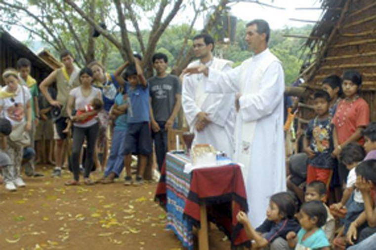 La Infancia y Adolescencia Misionera de Concordia se encuentra en El Soberbio. Foto Gentileza/Diócesis de Concordia