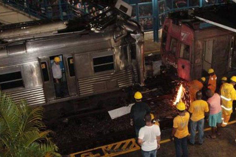Chocaron dos trenes en Río de Janeiro y hay 137 heridos