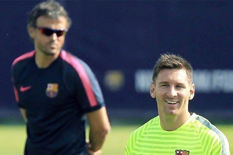 Aseguran que la relación entre Messi y Luis Enrique no tiene retorno