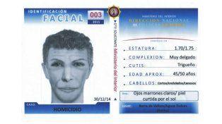 Difunden el identikit de un sospechoso por el crimen de Lola Chomnalez