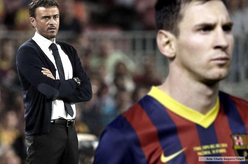 Messi faltó a la práctica y la prensa española habla de una crisis con el DT