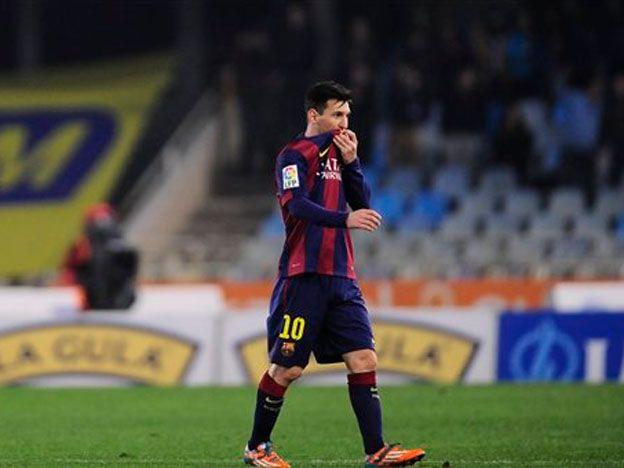 Messi no entrenó en Barcelona porque sufre una gastroenteritis