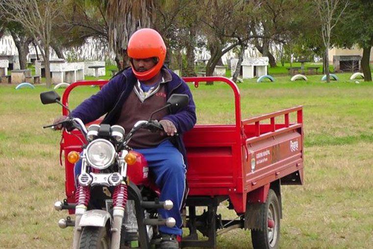 Motocarros. La Municipalidad promueve una recuperación de derechos.