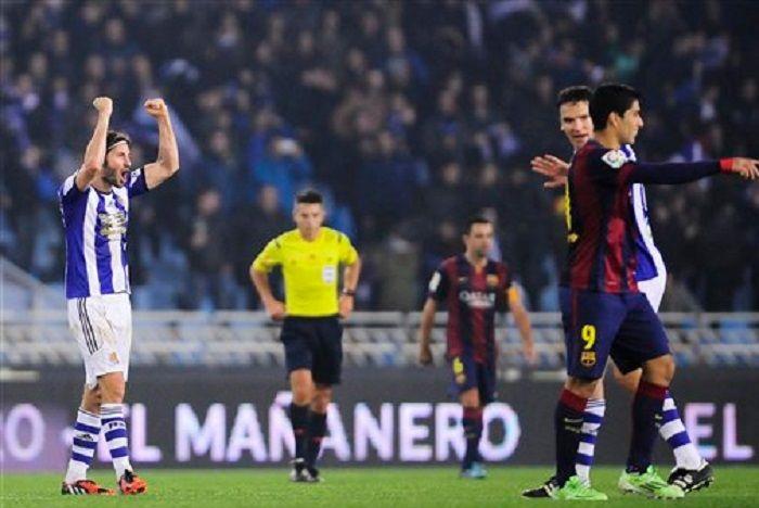 Una jugada fatal del Barcelona