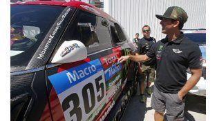 Promisorio segundo puesto para Orly Terranova en la primera etapa del Dakar