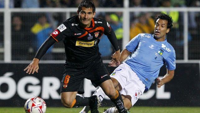 Diego Reynoso jugó dos años en el fútbol chileno.