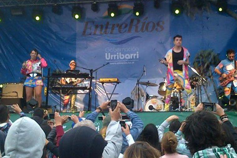 Oferta veraniega. El parador de Urribarri ofrece espectáculos musicales.