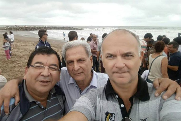 Selfie en Mardel. En la playa U