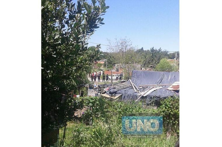 Homicidio en La Pasarela. Foto: Gentileza Carlos Daniel Lencina