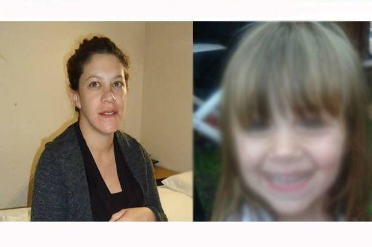 La mujer buscada y su pequeña hija de tres años se encuentran en Rosario