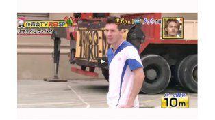 Messi marcó nuevo récord en el dominio del balón