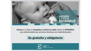 La provincia comienza a aplicar gratuitamente la vacuna que previene el rotavirus
