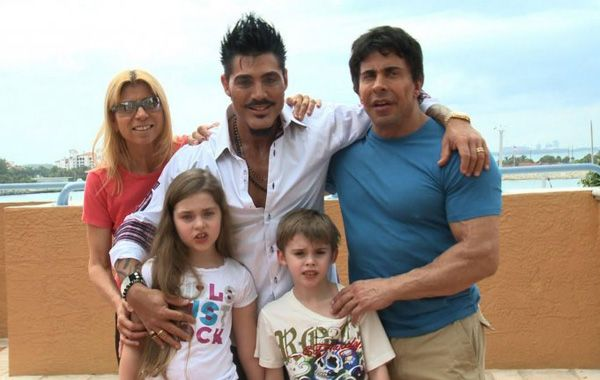 La expareja de Ricardo Fort se quedó con la tutela de sus hijos