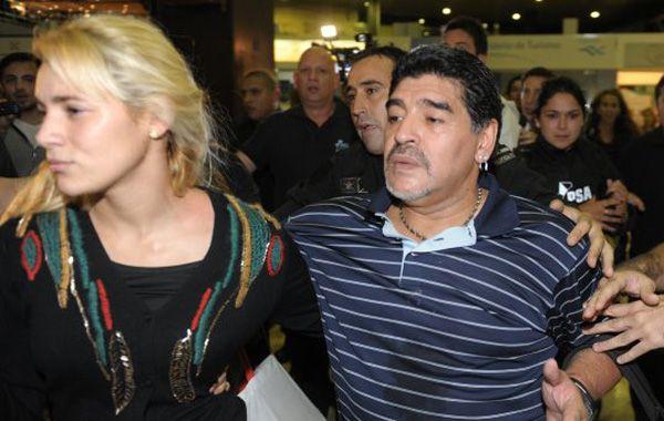 Rocío Oliva se habría metido con Dieguito y papá Diego se enojó feo