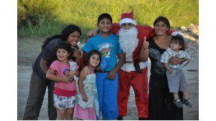 Papá Noel. El intendente de San Benito