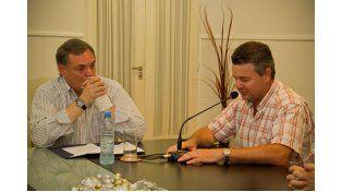 El intendente Mario Toler destacó la obra como histórica para la localidad. Foto: DGIP la orden de pago por un monto de 3