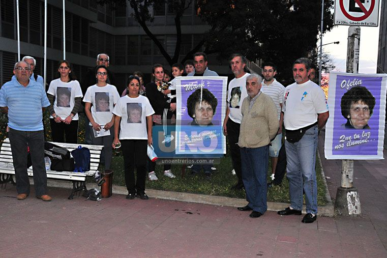 El permante pedido de Justicia de la familia y amigos de Ofelia Kessel (Foto: Archivo UNO/Ilustrativa)