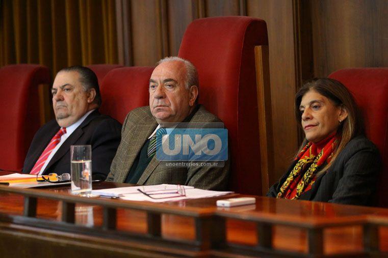El Tribunal. Foto UNO/Juan Ignacio Pereira