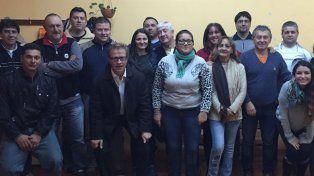 Hubo presencia de dirigentes y delegados de cada uno de los clubes afiliados a la APBF. Foto Gentileza/APBF