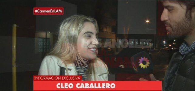 Cleo Caballero confirmó el romance con Federico Bal: Nos amamos