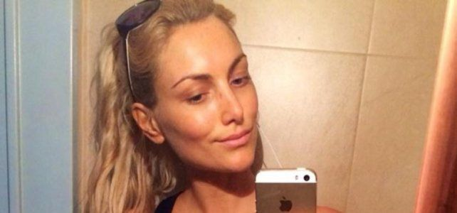 Sofía Macaggi se la jugó y posó en Instagram sin ropa interior
