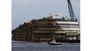 Video: El enderezamiento del Costa Concordia en 2 minutos