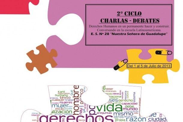 Ciclo de charlas sobre derechos humanos en la escuela Nuestra Señora de Guadalupe