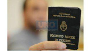 En 2013 se puede viajar al Mercosur con el DNI verde