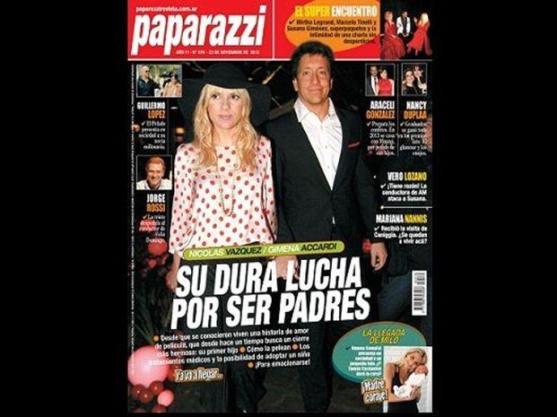 La lucha de Gimena Accardi y Nico Vázquez por ser padres