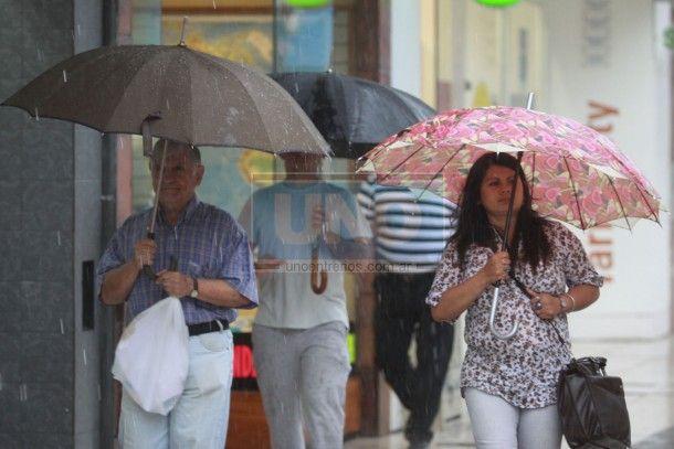 Estar atentos. El SMN anunció para las próximas horas fuertes tormentas y lluvias.